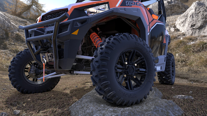 Polaris General 1000 EPS Deluxe ABS - ROUES ET PNEUS HAUTE PERFORMANCE